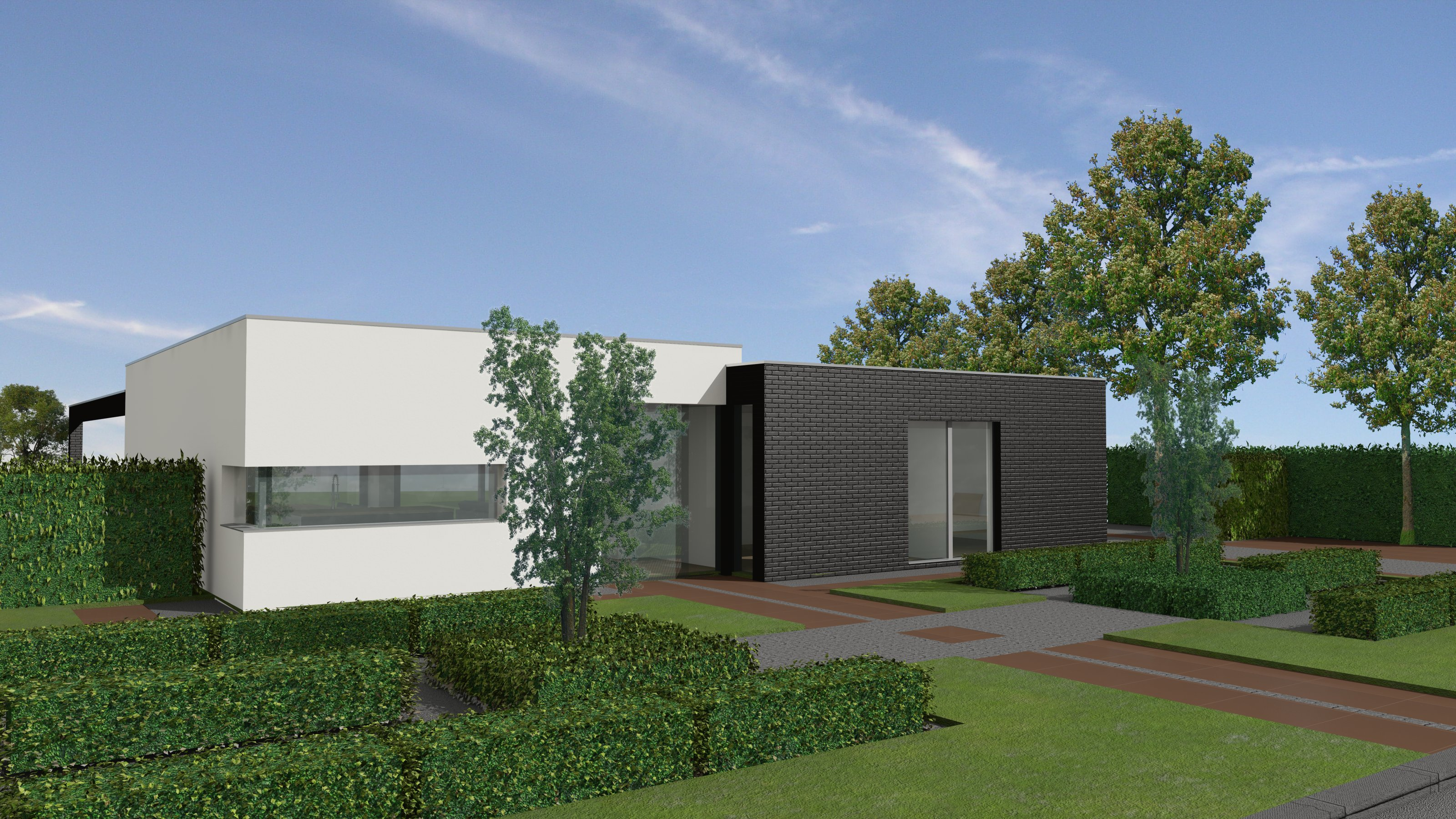 Bungalow laten bouwen type gre with bungalow laten bouwen for Vrijstaand huis laten bouwen